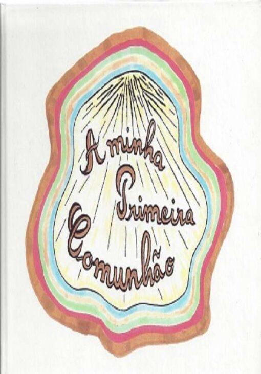 capa do livro a minha primeira cumunhão