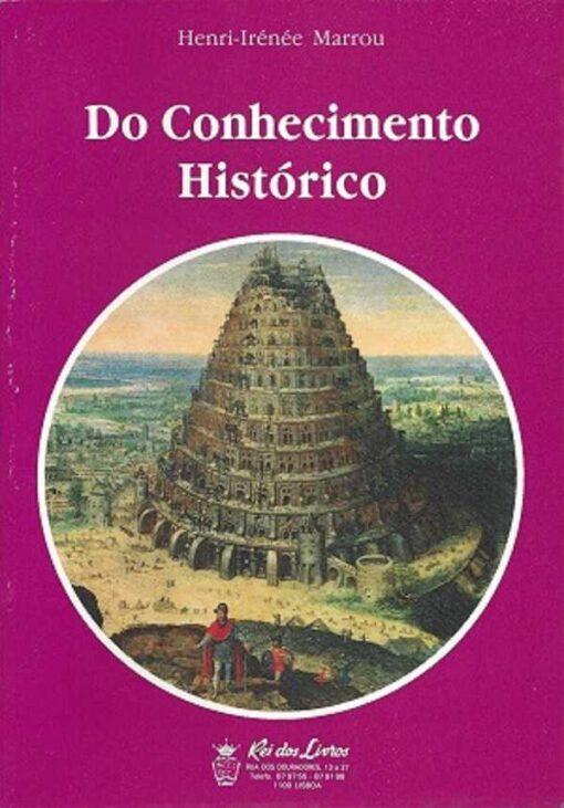 capa do livro do conhecimento histórico