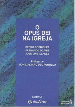 capa do livro O opus dei na igreja