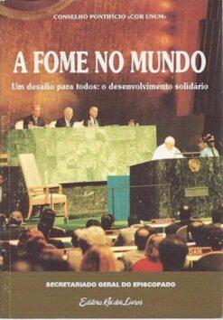 capa do livro a fome no mundo
