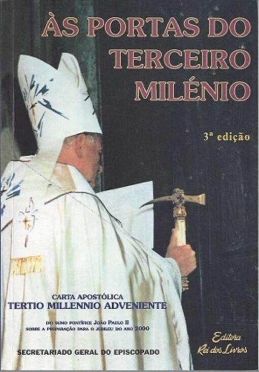 capa do livro Às Portas do Terceiro Milénio