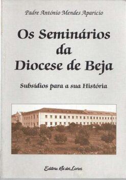 capa do livro os seminários da diocese de beja