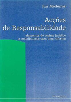 capa do Livro acções de responsabilidade