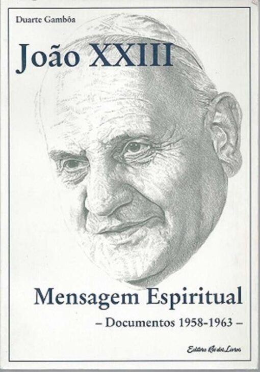 capa do livro João XXIII Mensagem Espiritual