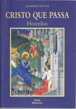 capa do livro cristo que passa