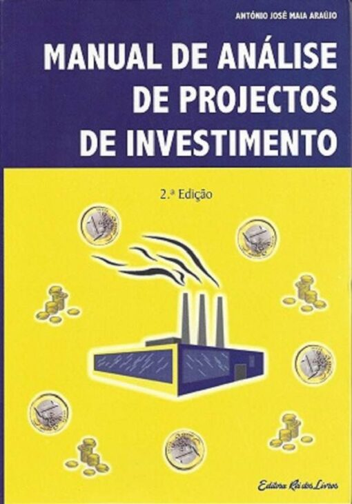 capa do livro Manual de Análise de Projectos de Investimento