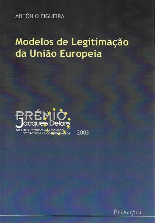 capa do livro Modelos de legitimação da união europeia