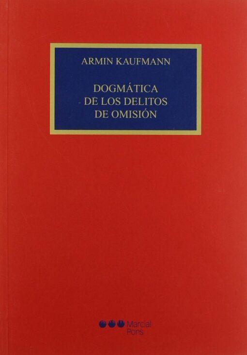 capa do livrodogmatica de los delitos de omison