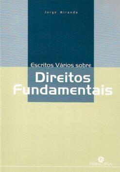 capa do livro Escritos Vários sobre Direitos Fundamentais