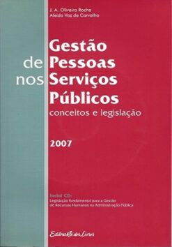 capa do livro Gestão de pessoas nos serviços públicos