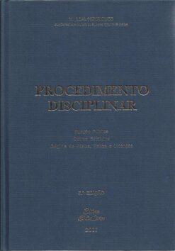 capa do livro procedimento disciplinar