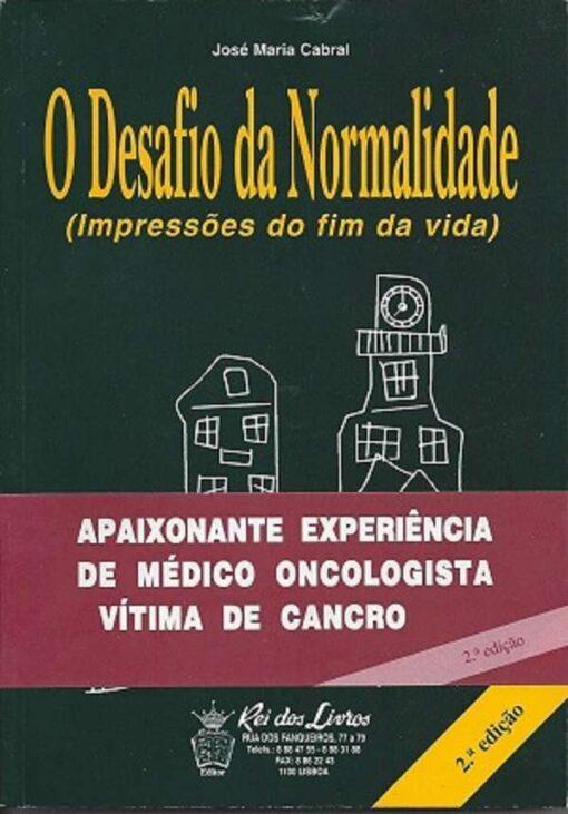 capa do livro desafio da normalidade