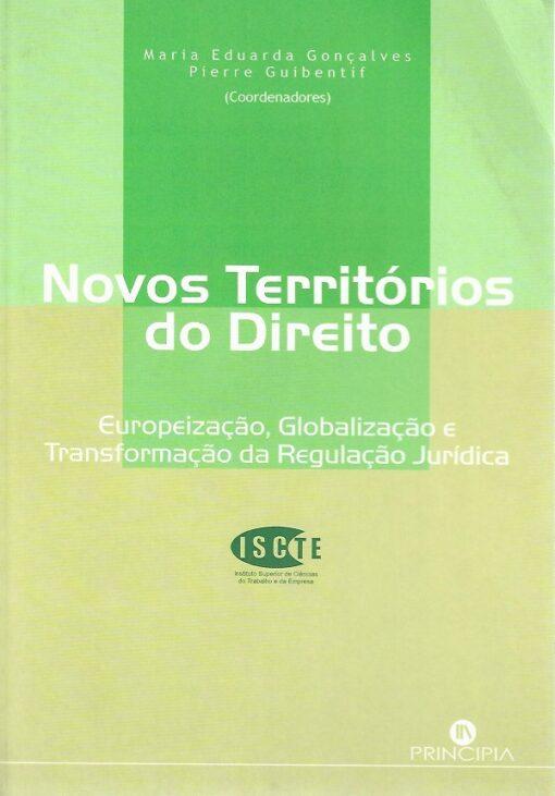 capa do livro Novos Territórios do Direito
