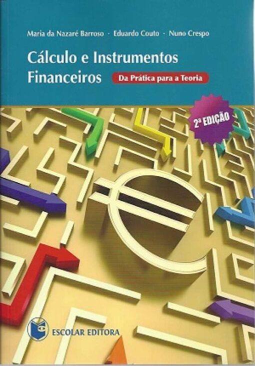 capa do livro Cálculo e Instrumentos Financeiros
