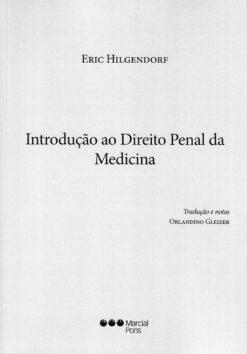 capa do livro introdução ao direito penal da medicina