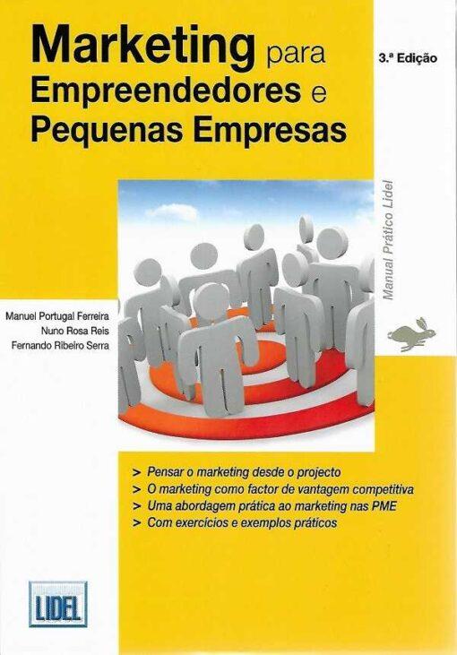 capa do livro marketing para empreendedores e pequenas empresas