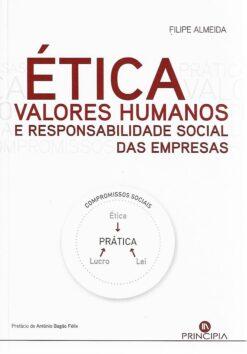 Capa do livro Ética Valores Humanos e Responsabilidade Social das Empresas