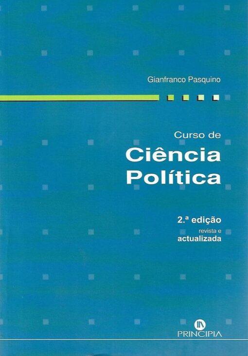 capa do livro Curso de Ciência Politica