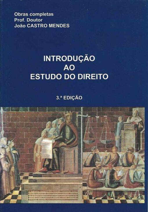 capa do livro introdução ao estudo do direito
