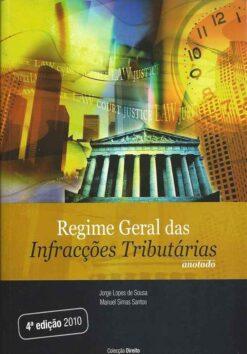 Capa do livro Regime Geral das Infrações Tributárias