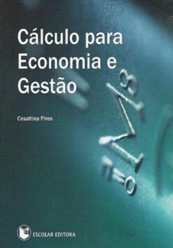 capa do livro Cálculo para Economia e Gestão