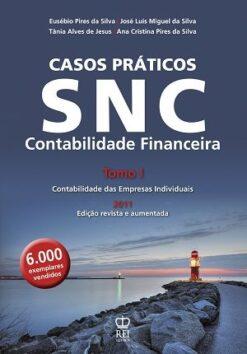 Capa do livro SNC Contabilidade Financeira Tomo 1
