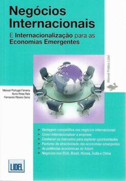 capa do livro negócios internacionais