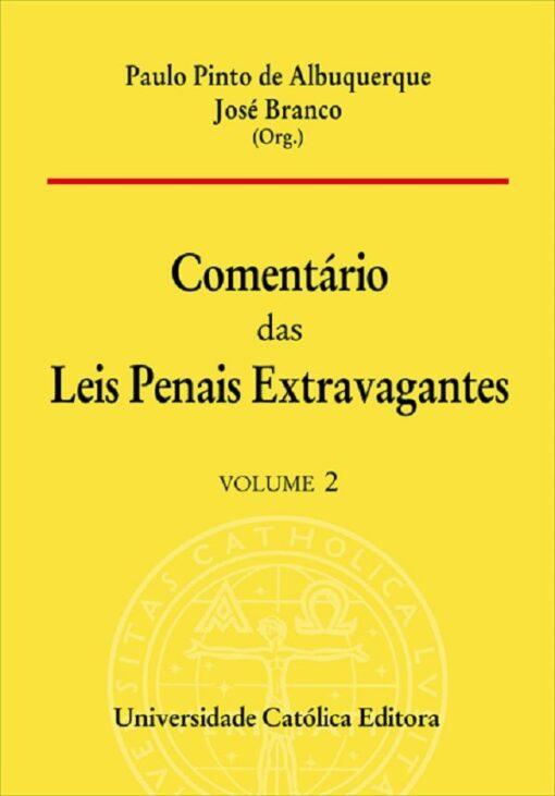 capa do livro Comentário das Leis Penais Extravagantes - Volume 2