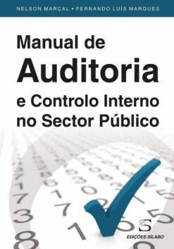 capa do livro Manual de Auditoria e Controlo Interno no Sector Público