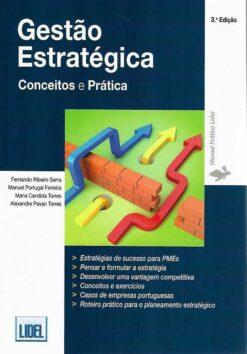 capa do livro Gestão Estratégica Conceitos e Prática
