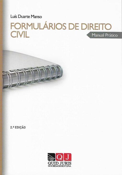 Capa do Livro formulários de direito civil
