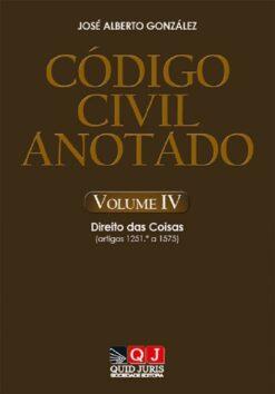 capa do livro Código Civil Anotado – Volume IV