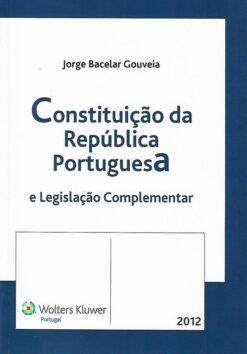 capa do livro Constituição da republica portuguesa
