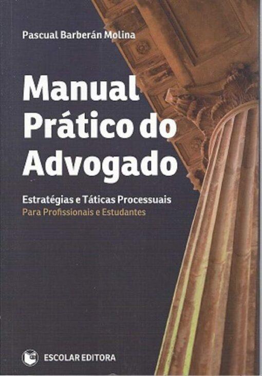 capa do livro Manual Prático do Advogado