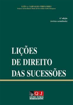capa do livro Lições de Direito das Sucessões