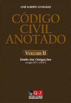 capa do livro Código Civil Anotado – Volume II