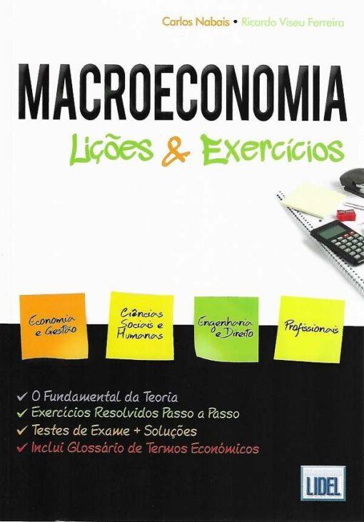 capa do Livro Macroeconomia Lições & Exercícios