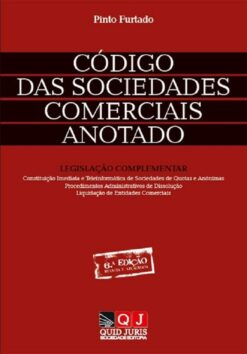 capa do livro Código das Sociedades Comerciais Anotado
