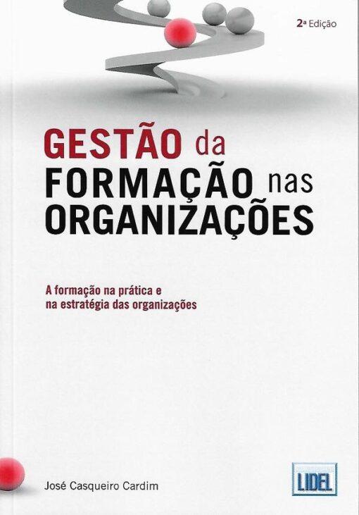 capa do livro Gestão da Formação nas Organizações