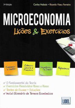 capa do livro microeconomia licões e exercicios