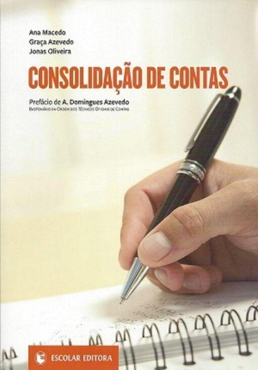capa do livro Consolidação de Contas
