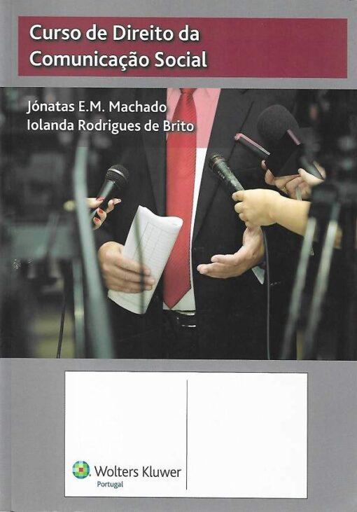 capa do livro Curso de direito da comunição social