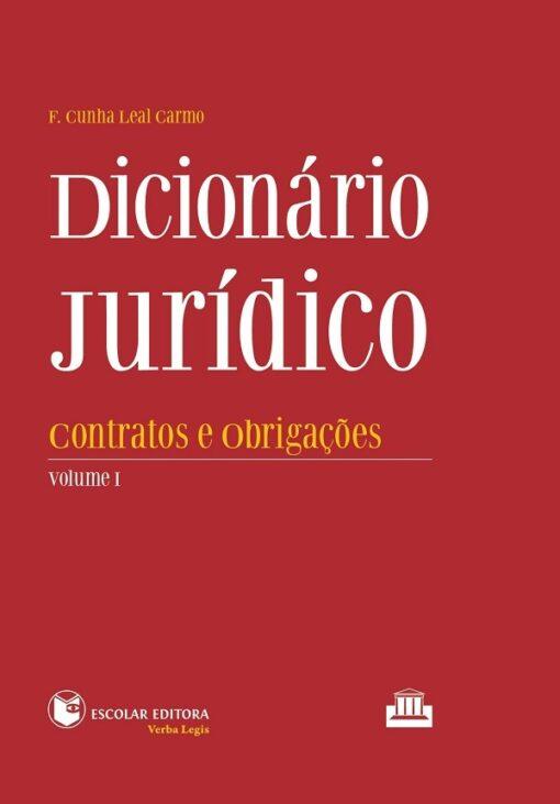 capa do livro Dicionário Jurídico