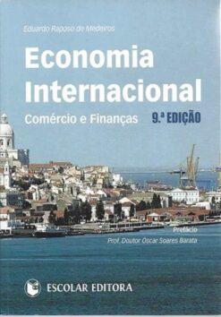 capa do livro Economia Internacional