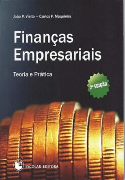 capa do livro Finanças empresariais