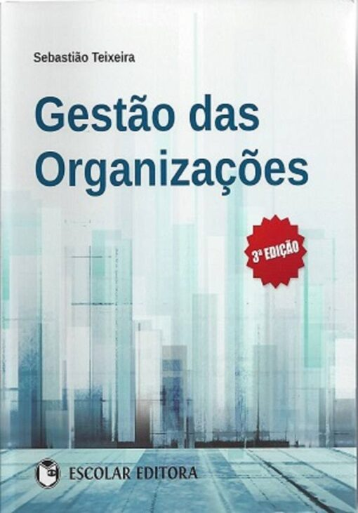 capa do livro gestão das organizações