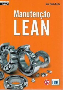 capa do livro Manutenção Lean