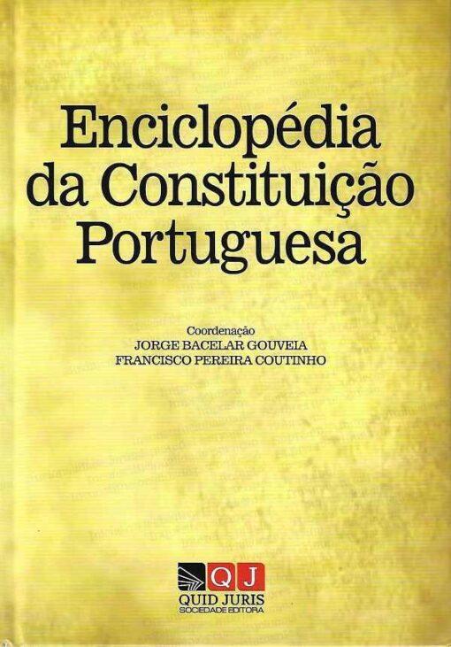 capa do livro Enciclopédia da Constituição Portuguesa