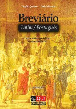 capa do livro Breviário de Latim–Português