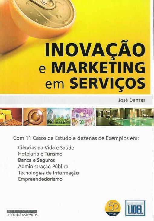 capa do livro Inovação e Marketing em Serviços